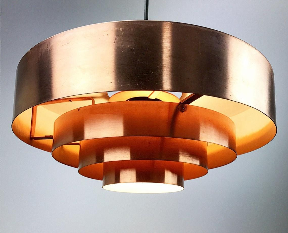 The Roulette Copper Ceiling Light By Jo Hammerborg Copper Ceiling Lights Copper Ceiling Ceiling Lights