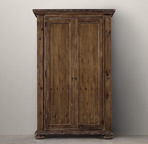 French Empire Armoire @restorationhardware