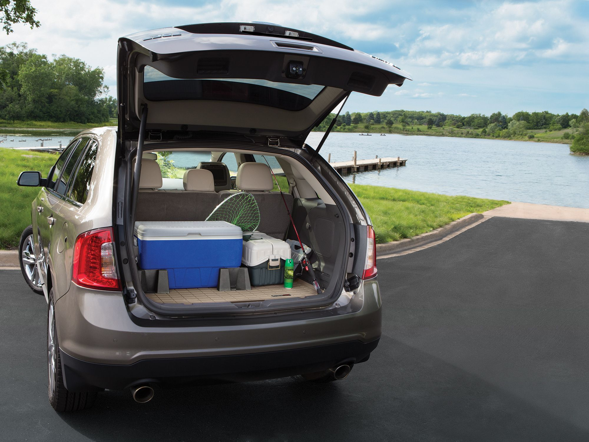 How to unlock weathertech floor mats - Weathertech Cargo Liner Is A Reel Catch For Father S