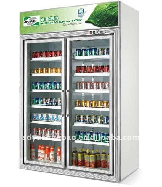Convenience Store Refrigerator Beverage Fridge Upright
