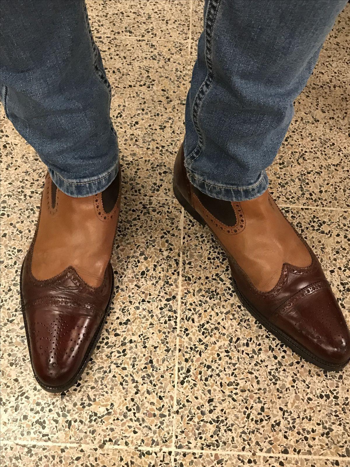 894309c38e5 Pin de rodrigo leon en zapatos hombre