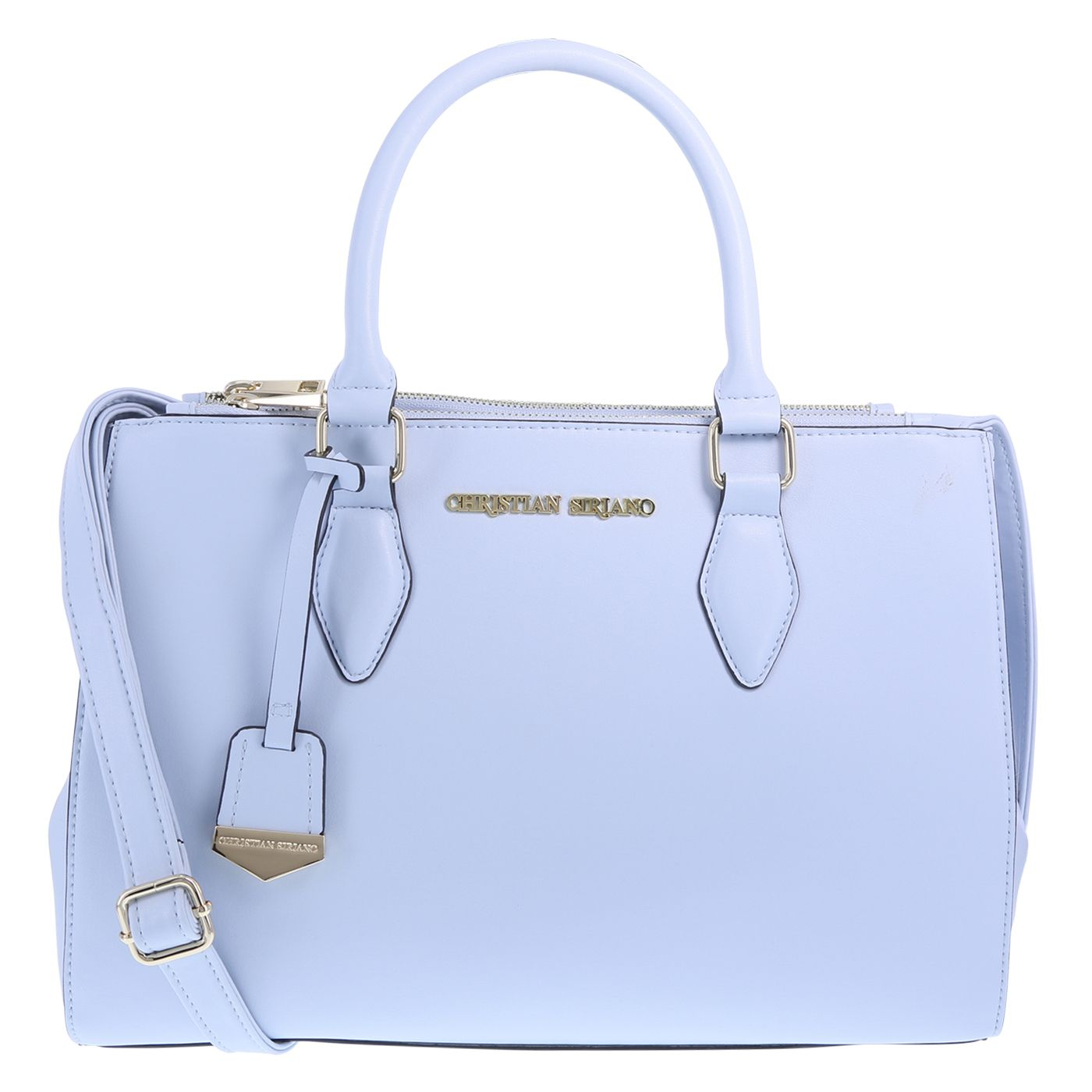 Christian Siriano for Payless satchel in pastel blue for spring ... e58f1eee7d2c