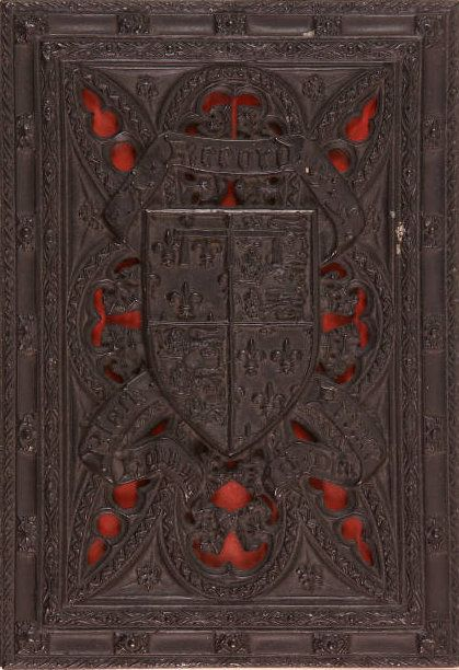 Victorian Gothic Revival Papier Mache Binding