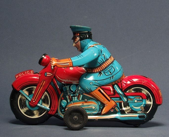 Friction P D  Motorcycle by Linemar circa 1960 | eBay