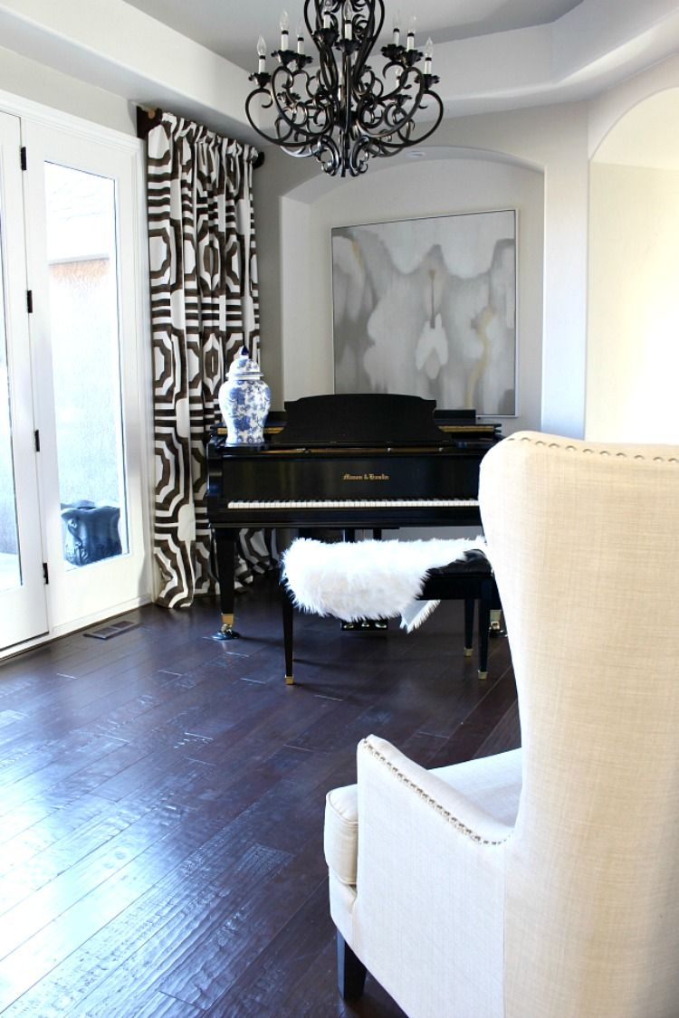 The House of Silver Lining: The Piano Room: New Canvas Art