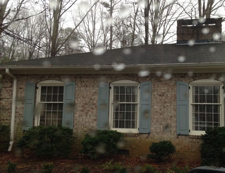 Shutter Colors For Brown Brick House Trim
