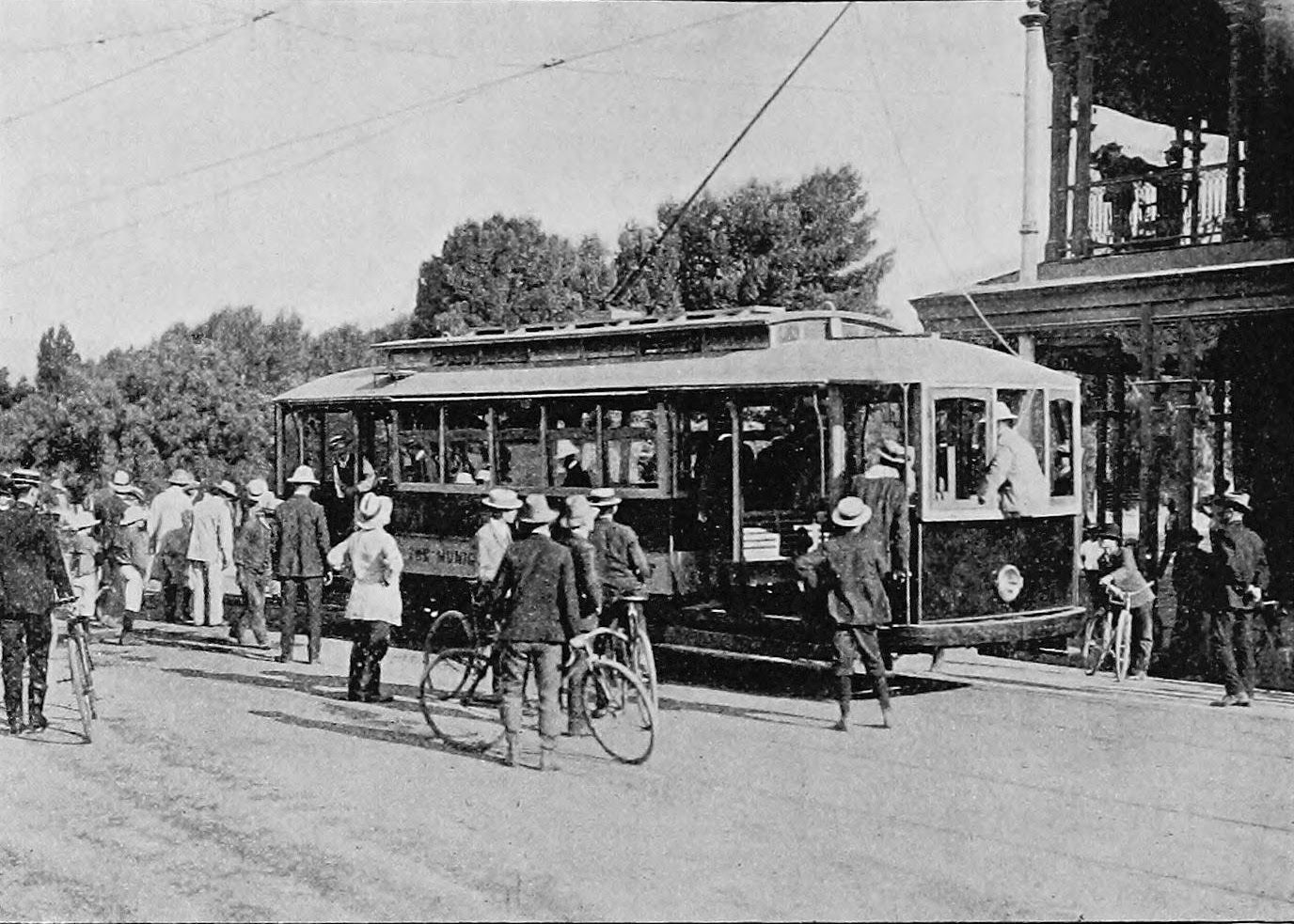 Testing The First Electric Tramcar In Adelaide 23rd