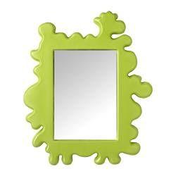 BARNSLIG speil, grønn Bredde: 44 cm Høyde: 53 cm