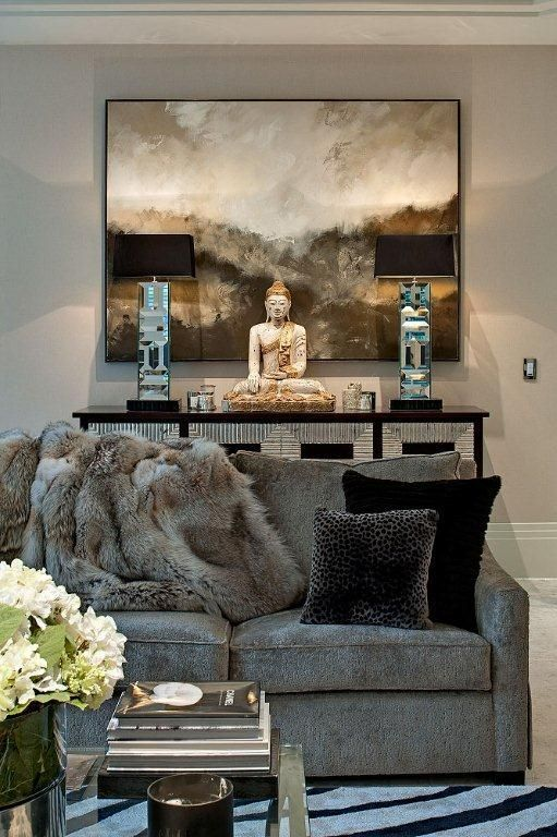 Drawing Room Detailing © Hill House Interiors | ♚ Living Room .