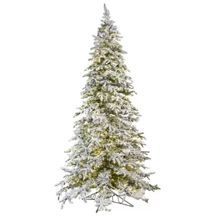 Tiffany Fir 12 Green Fir Artificial Christmas Tree With 1400 Clear White Lights Jo In 2020 Flocked Artificial Christmas Trees Big Christmas Tree Christmas Tree Sale