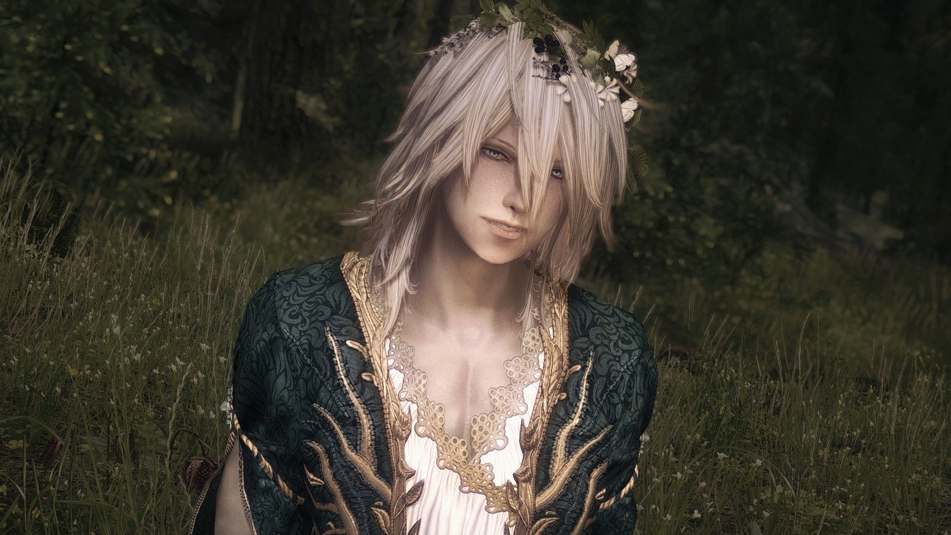 Azel - Vampire Male Follower at Skyrim Nexus - mods and