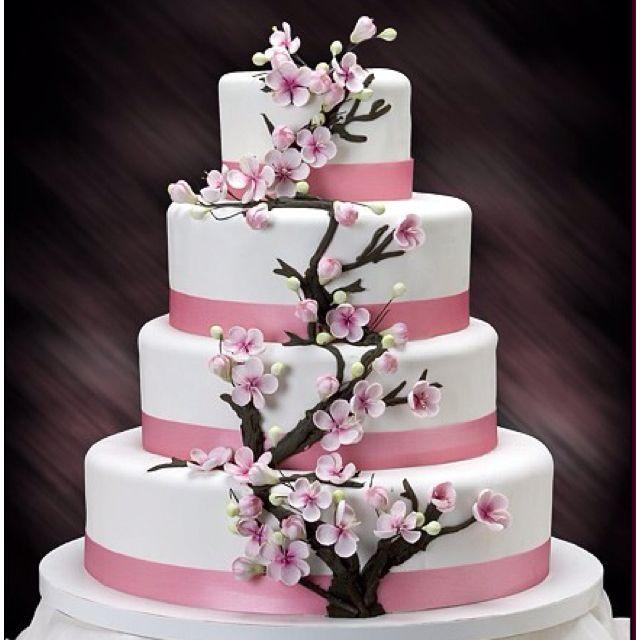 Sakura Wedding Cake Cherry Blossom Wedding Cake Cherry Blossom