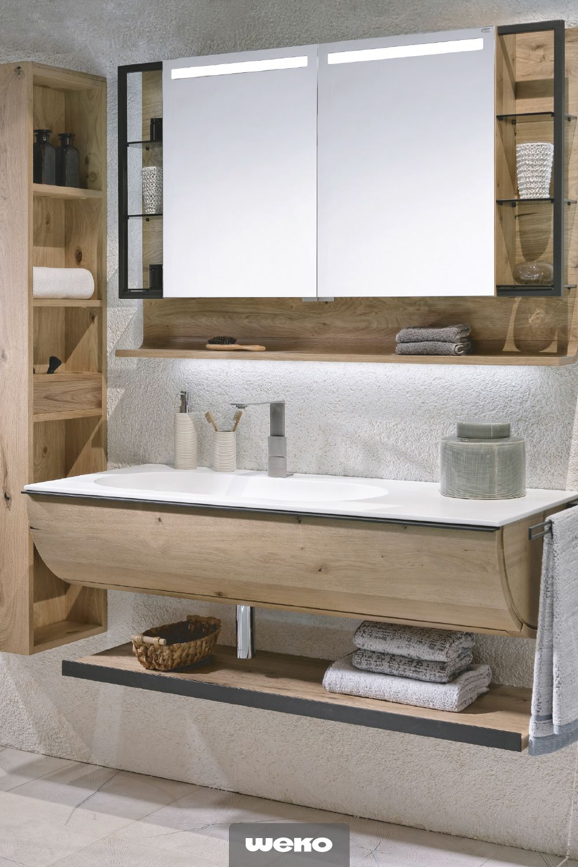 Designorientiertes Badprogramm Mit Baumstammoptik Kleines Badezimmer Umgestalten Badezimmer Badezimmer Design