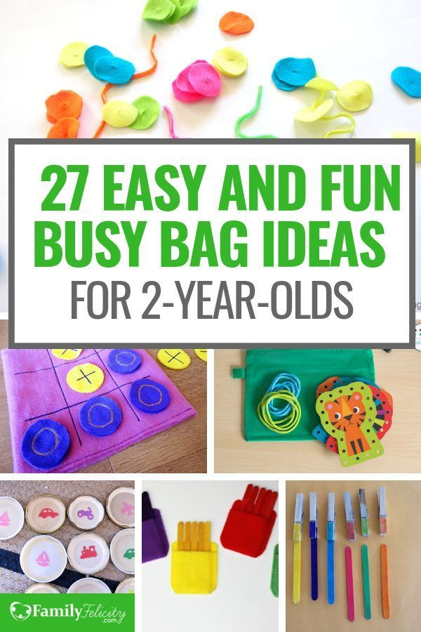 27 Fun Busy Bag Activities for 2 Year Olds to Keep Them Busy images