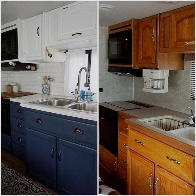 Find more ideas DIY Small Kitchen Remodel On A Budget Dark Small - Kitchen Renovation On A Budget