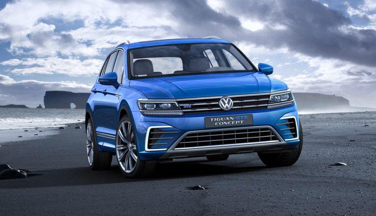 Tiguan Gte Plug In Hybrid 7 Gelandewagen Volkswagen Tiguan