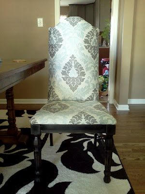 Good How To Turn A Cane Backed Chair Into A Parsons Chair | Proverbs 31 Mom