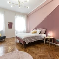 Photo of Camera matrimoniale camera da letto moderna di architrek moderno | homify