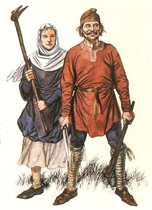 Anglo Saxon Peasants After The Norman Conquest Anglo Norman An Insular Scandinavian Influenced Dialec Anglo Saxon History Saxon History Anglo Saxon Clothing