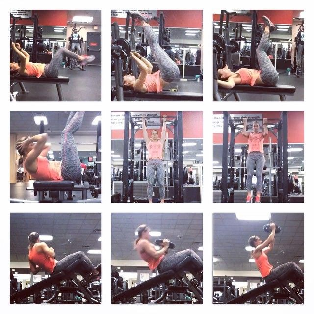 Complete 3 sets  1. Reverse Crunch with extension X 20 2. Reverse Crunch with slow 5 count release X 20 3. Wiper Abs X 20 per side  4. Balance Crunches: lay sideways on a bench with only your lower back supported by the bench. X 20  5. Hanging leg raises X 10 6. Hanging knee to elbows X 10 7. Decline weighted twists X 20 per side 8. Weighted Decline Sit-ups X 20 9. Decline Sit up with Press X 20