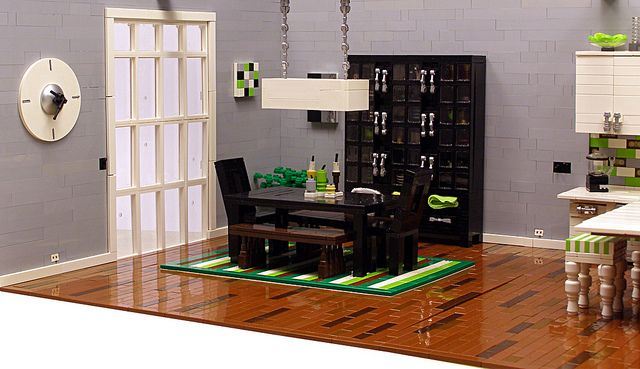 Dining Area Lego Furniture Room