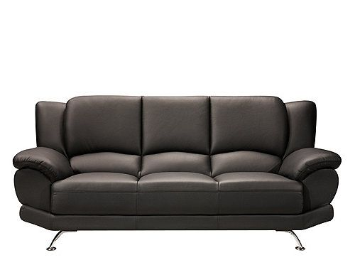 With A Striking Blend Of Color Shape And Texture This Bentley Leather Sofa Ushers In New Age Contemporary Furniture Its Fashion Forward Design Is