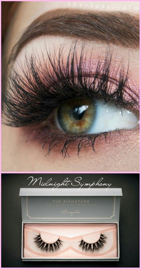 8ae591e5627 EXCLUSIVE NOIRE DESIGN An ESQIDO exclusive, this pair of Noire mink lash is  specially designed