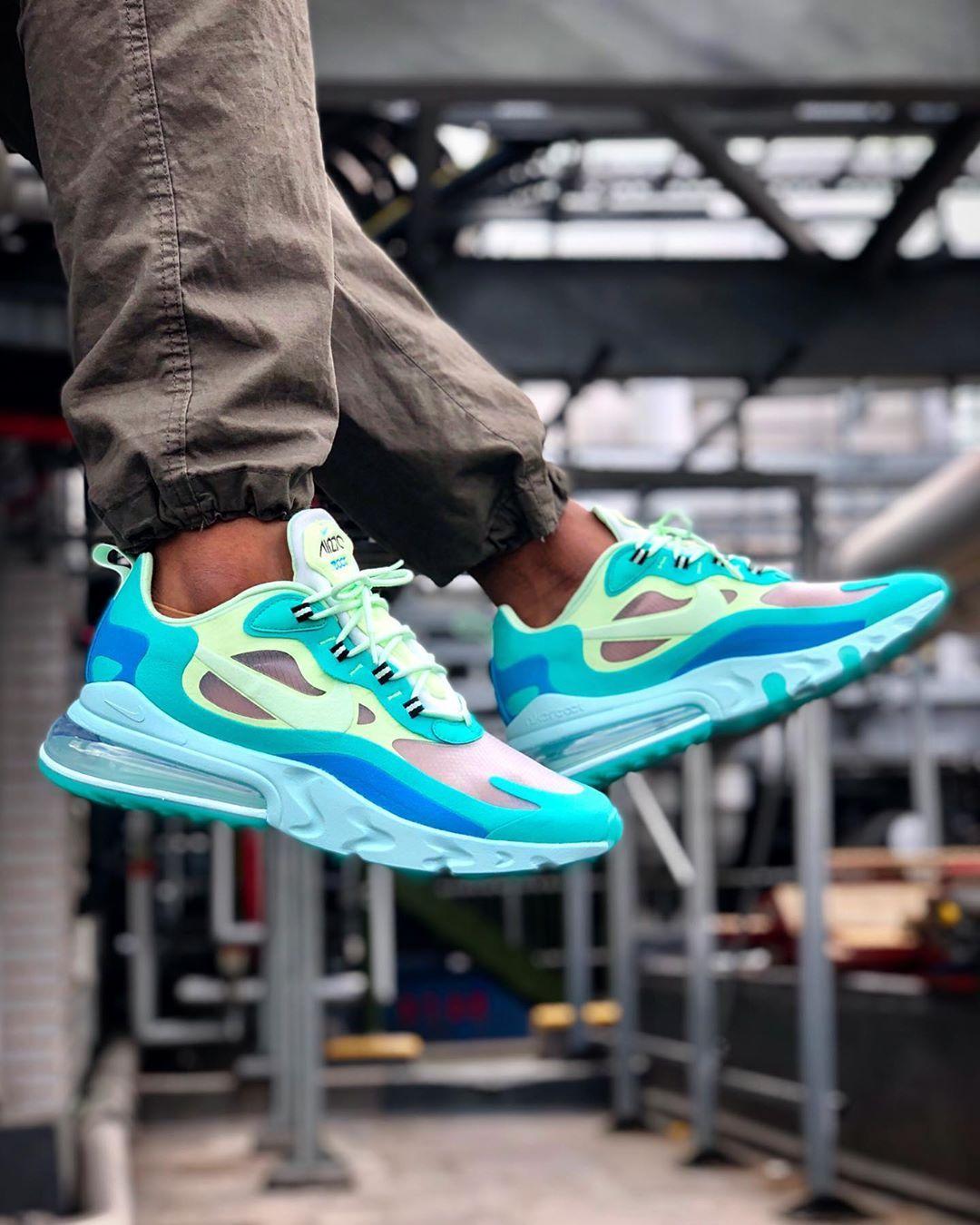 Nike Air Max 270 React More Best Instagram Sneaker Photos Nike