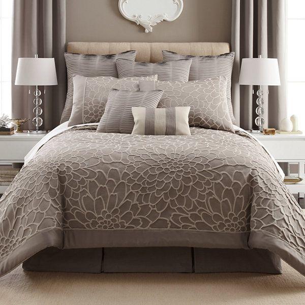 Liz Claiborne 174 Kourtney 4 Pc Comforter Set Amp Accessories