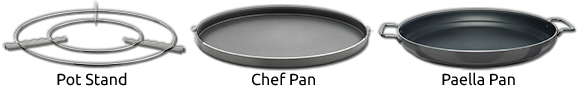 Cadac Pot Stand, Chef Pan, Paella Pan
