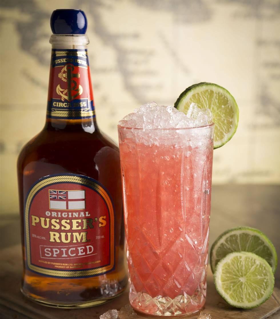 Fancy A Rum Runner 15ml Blackberry Brandy 15ml Grenadine 25ml