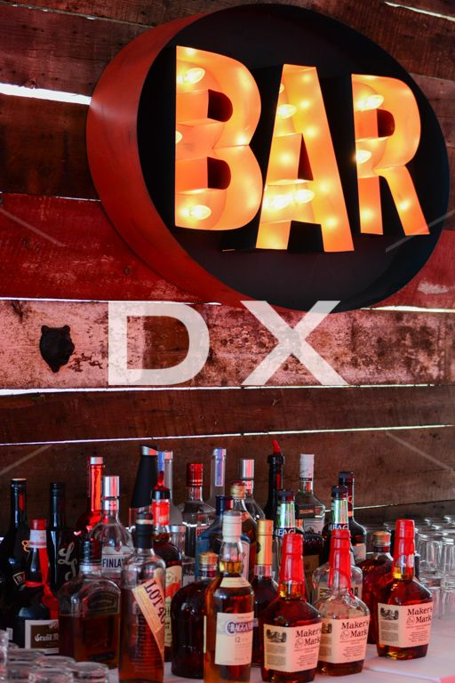 Vintage Bar Sign by DX Design