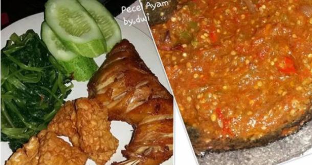 Resep Sambal Pecel Ayam Yang Enakk Banget Pecel Sambal Food