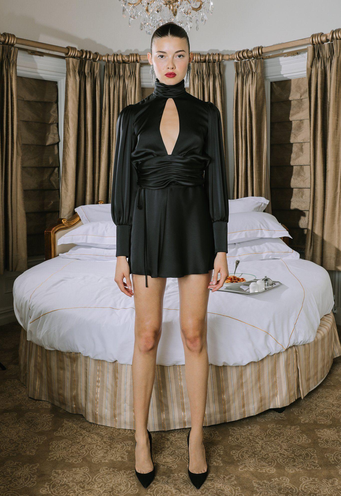 Night Out Dress Black Night Out Dress High Fashion Street Style Dresses [ 1987 x 1365 Pixel ]