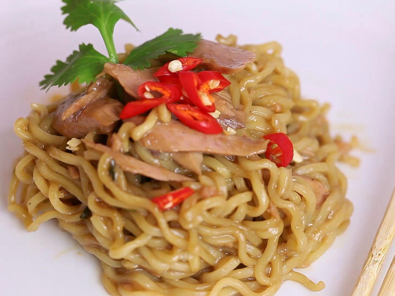 cook ramen and tuna fish  recipe  how to cook ramen