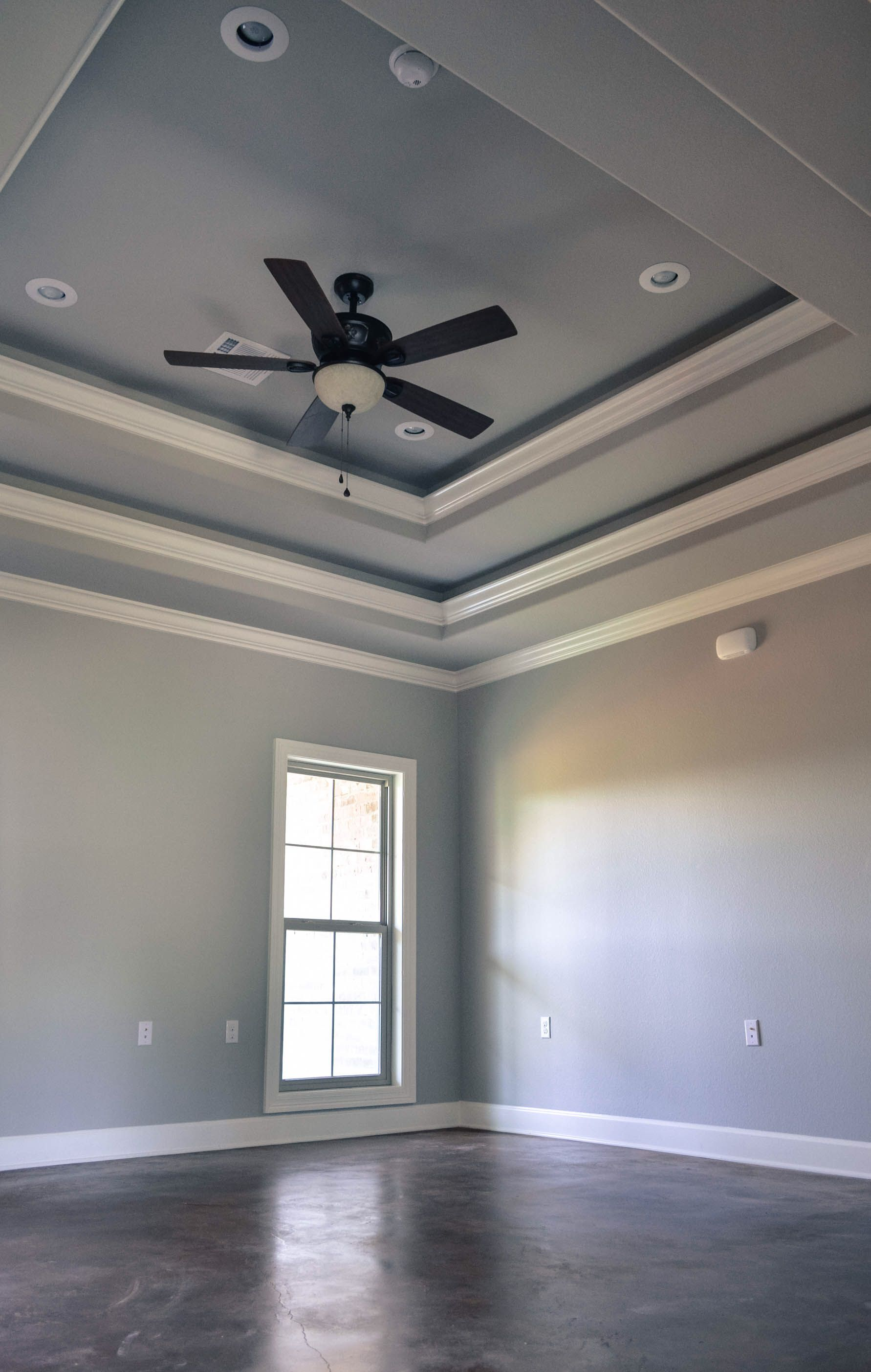 Double tray ceiling 118 Teal Pinterest