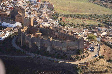 Castillo Burgalimar En Banos De La Encina Jaen Andalucia Espana