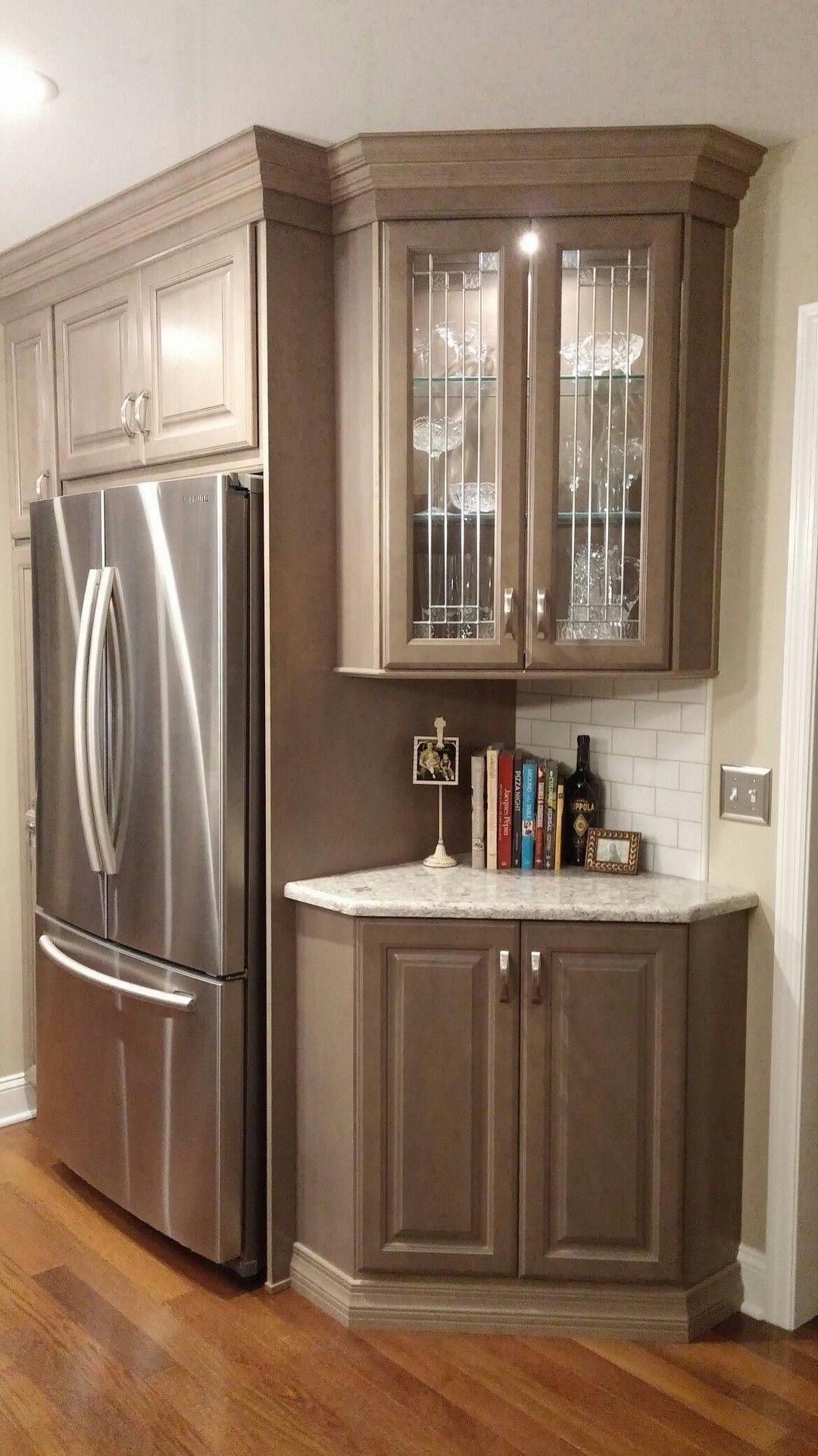 45 Gorgeous Corner Cabinet Storage Ideas For Your Kitchen Diy Kitchen Remodel Kitchen Cabinets Home Kitchens