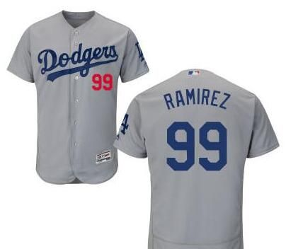 3833644f2 ... promo code for los angeles dodgers 99 manny ramirez retired gray  stitched baseball jersey 6feeb 45693