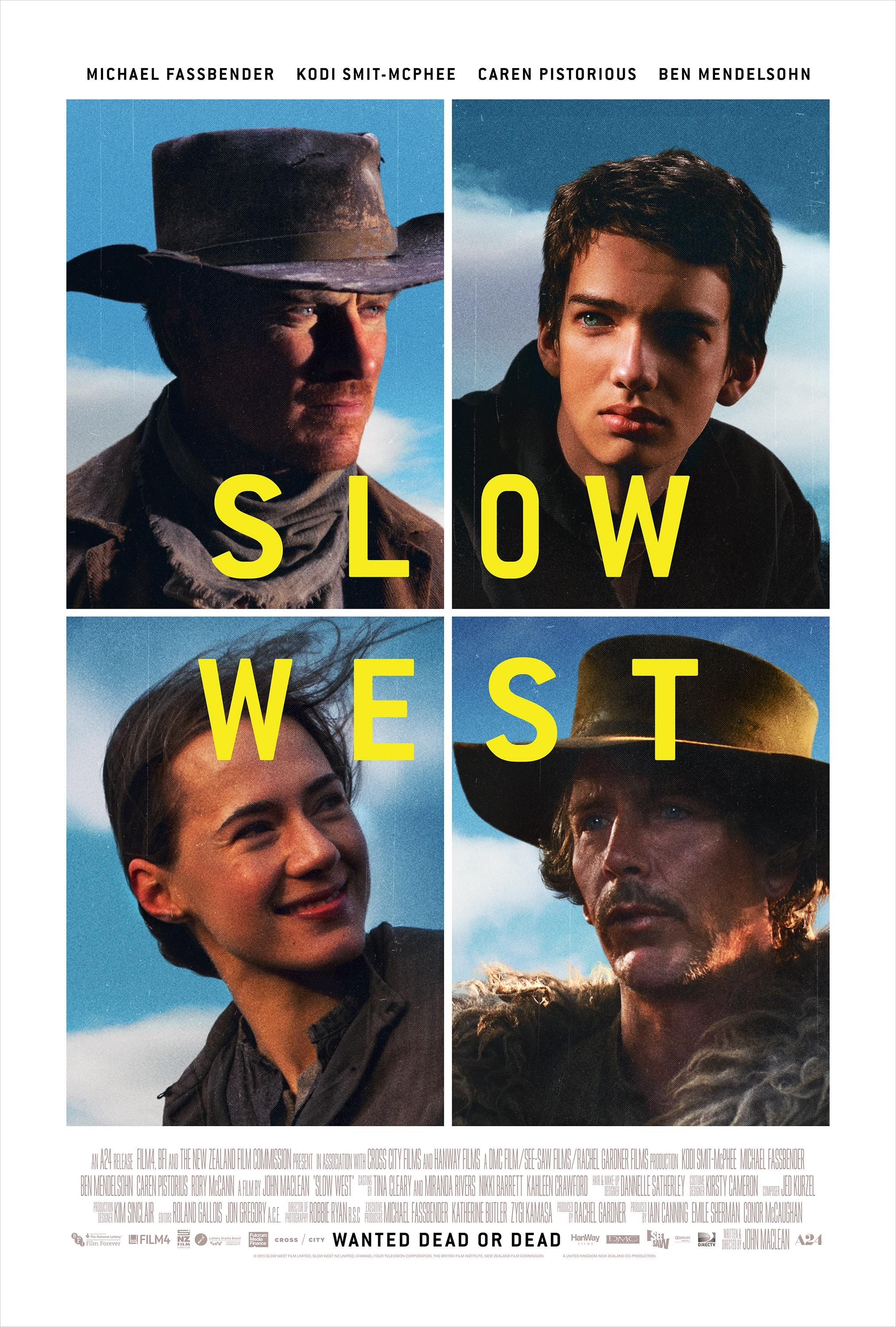 Slow West (2015) [2025x3000] (With images) Michael