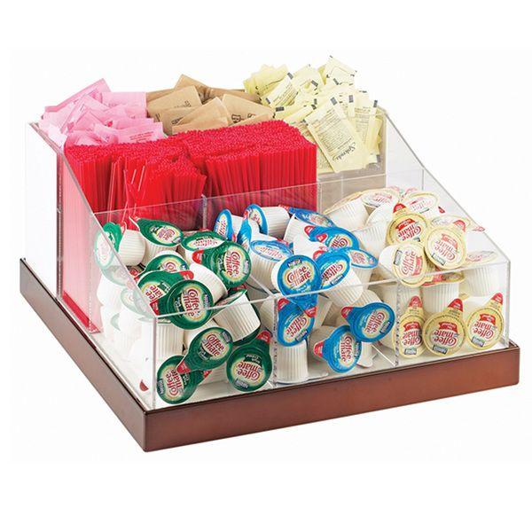 Condiment Organizers Displays Organizers Dispenser Smallwares Restaurant Supplies White Metal Condiments Restaurant Supplies
