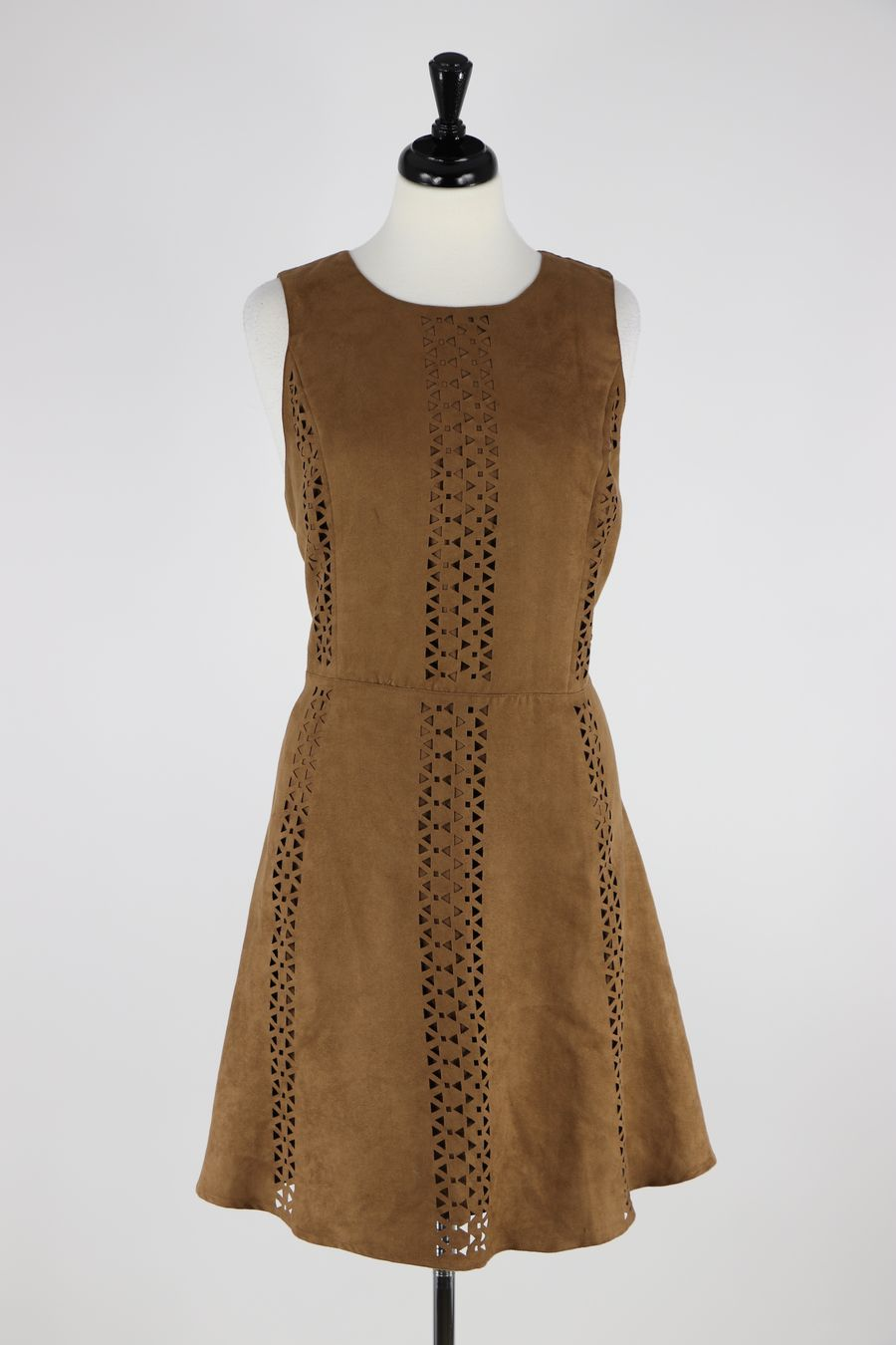 253d030b62 Mossimo Faux Suede Sleeveless Dress