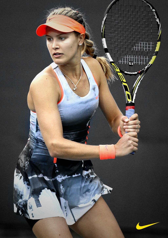 Shop Genie Bouchard S Gear Here Http Www Midwestsports Com Eugenie Bouchard C Eugenie Bouchard Tennis Fashion Tennis Players Female Tennis