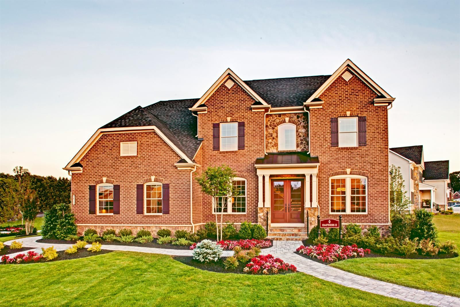 New Empress Ii Home Model At Aer Single Family Homes Malvern In Pa Nvhomes