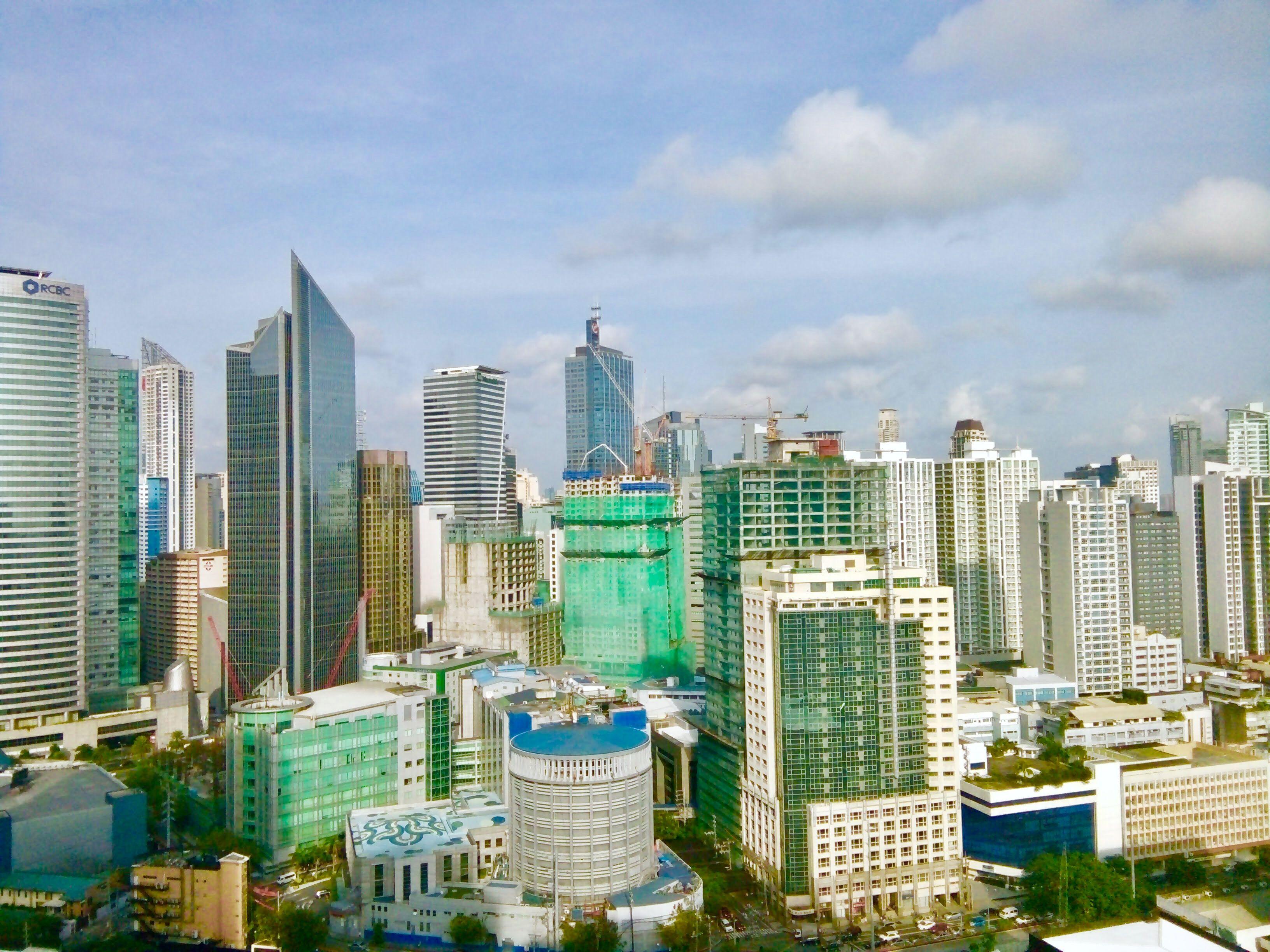 photo took from oriental garden condominium makati. 33rd