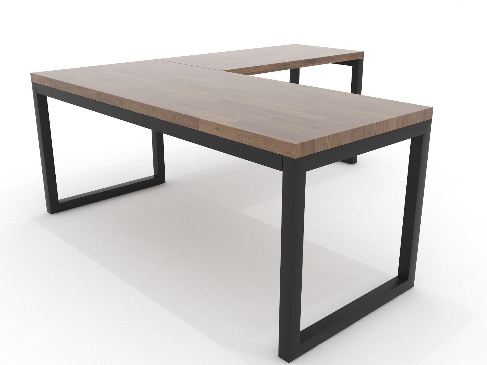 Iron Age Office   Rowan Desk   Office furniture design, Home ...