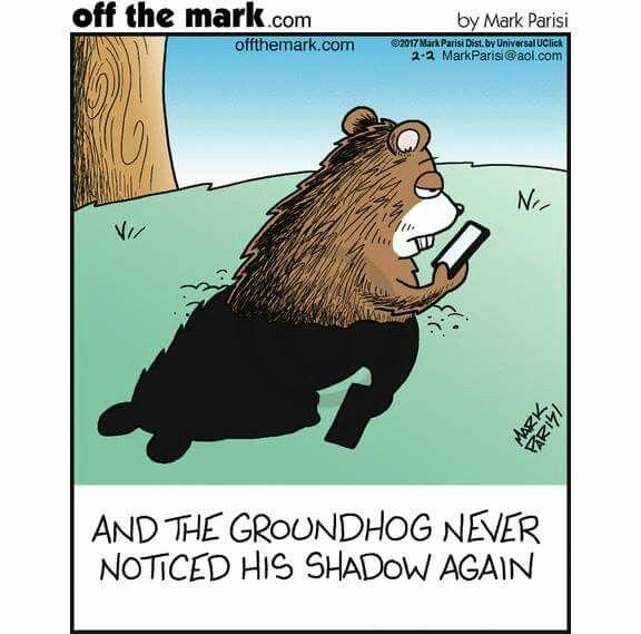 Groundhog Day Humor Groundhog Day Comic Valentine Groundhog