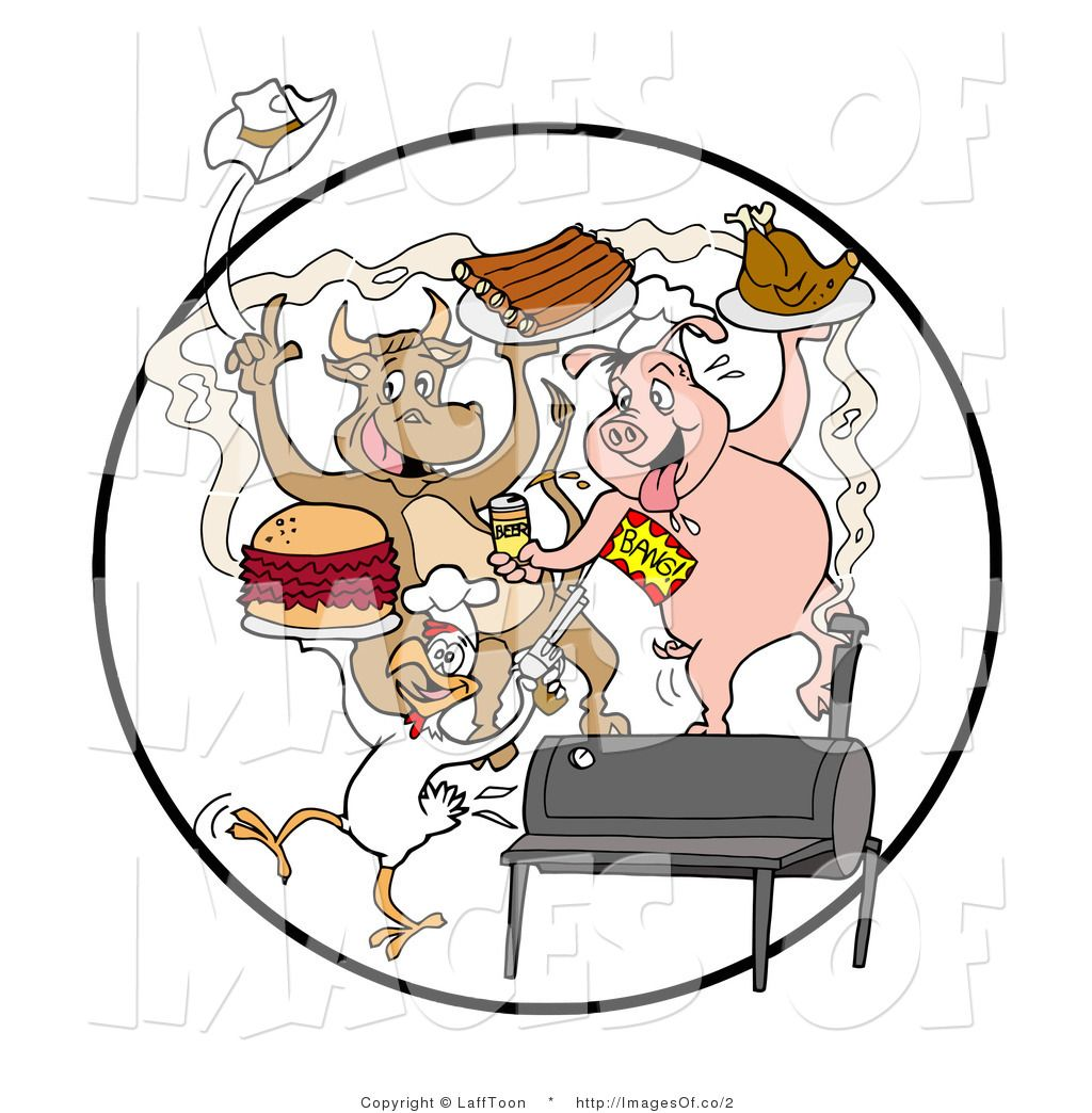 Funny Cartoon Bbq Pig Clip Art Picture Bbq Pig Pig Pictures Pig Cartoon