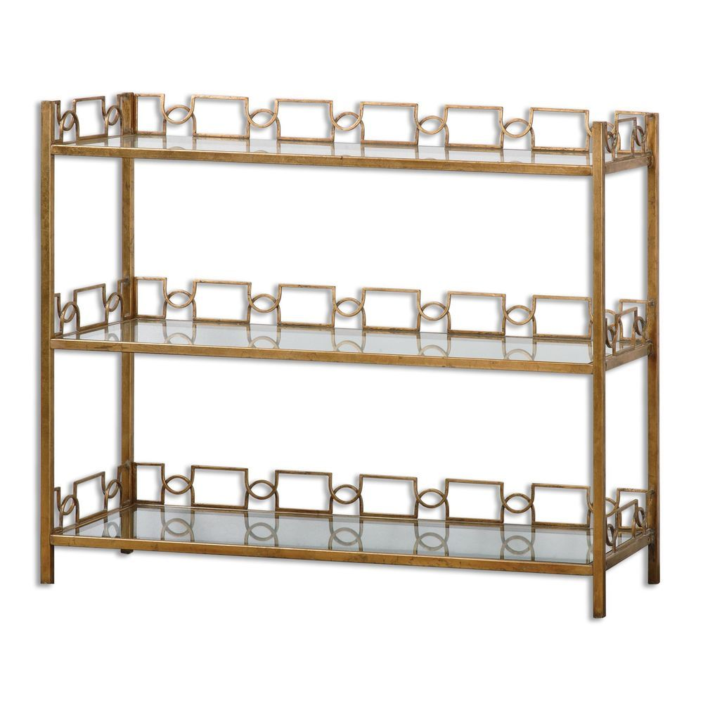 Glass console table with shelf nicoline glass console table  overstock shopping  great deals on