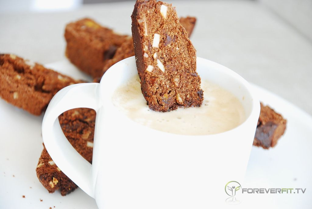 Gluten Free Chocolate Biscotti :: Foreverfit.tv